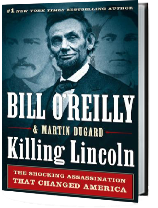 Killing Lincoln book Jacket