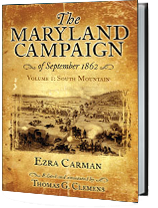 Maryland Campaign of 1862 Book Jackett