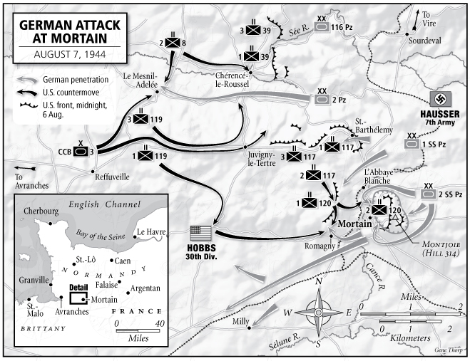 German Attack at Moratin map