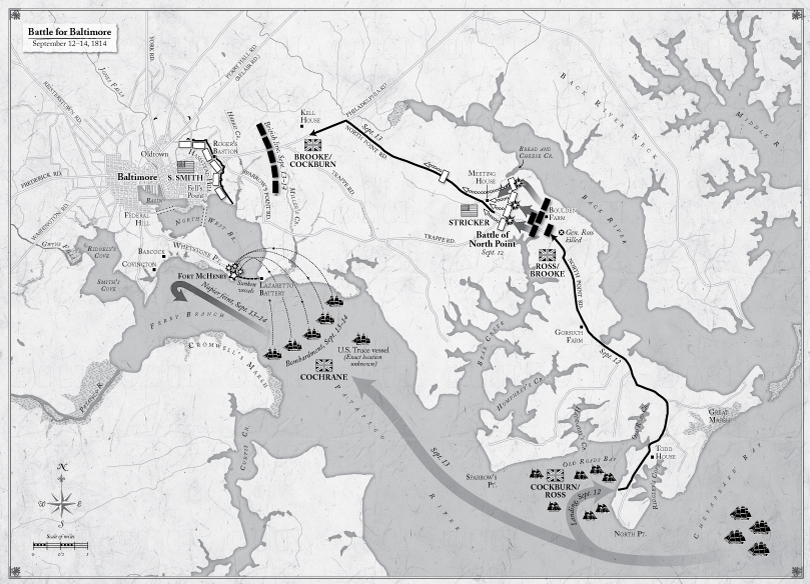 Battle For Baltimore Map