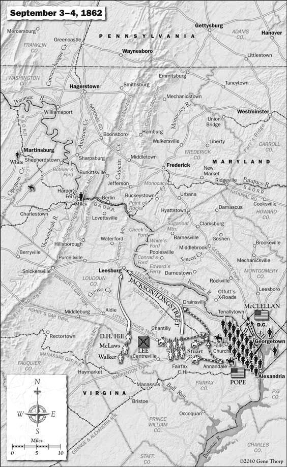 Antietam Campaign September 3-4, 1862