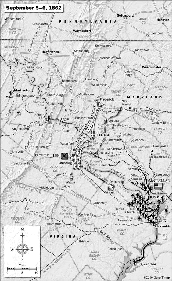 Antietam Campaign September 5-6, 1862
