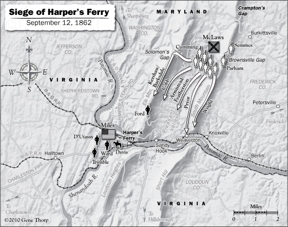 Siege of Harpers Ferry September 12, 1862