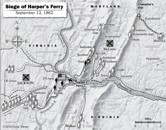 Siege of Harpers Ferry September 13, 1862